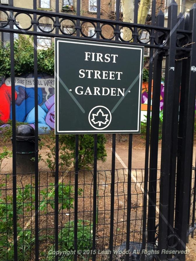 First Street Garden