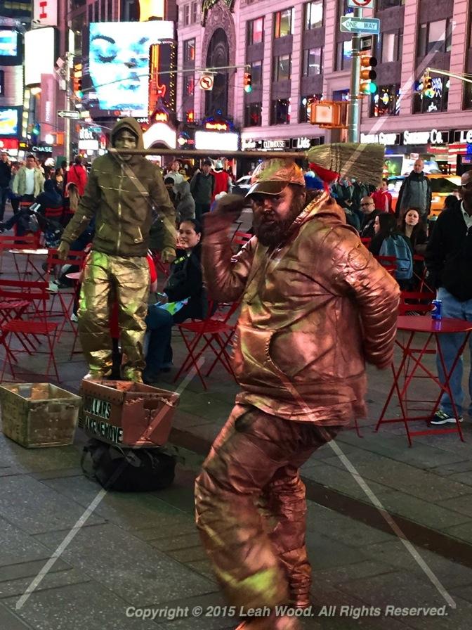 Dancing Metal Man?