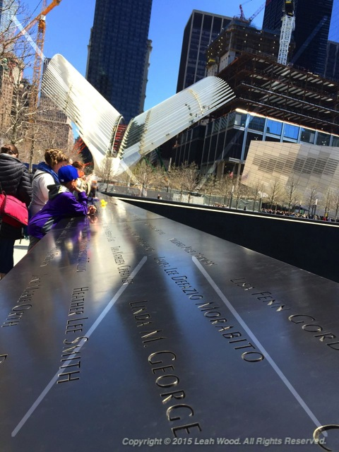 9/11 Memorial North Pool