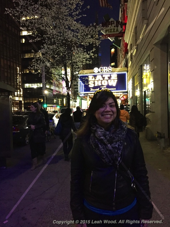 Outside Late Night with David Letterman